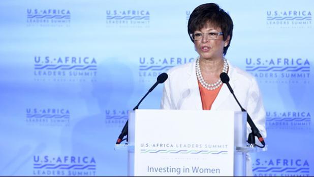 Valerie Jarrett in an AP file pphoto
