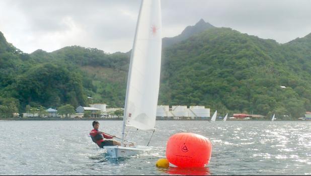 Victor Chen sailing