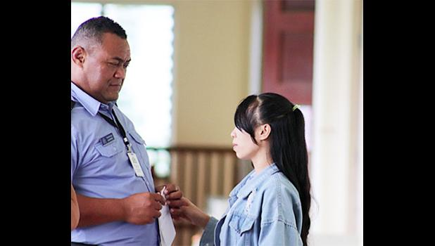 Twenty-four-year-old female An Tran Thi appeared in Court on Friday