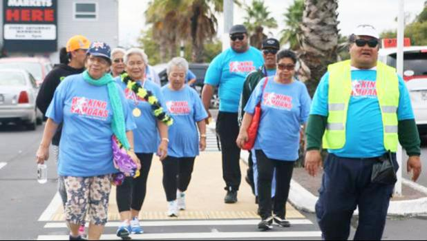 Mangere members head out for some exercise. [courtesy photo]