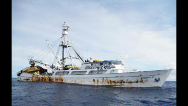 US flaged purse seiner vessel F/V Koorale