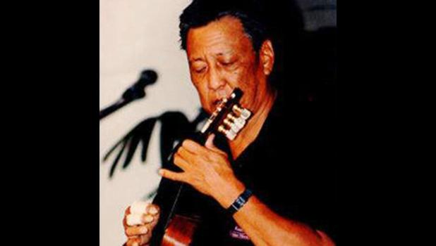 In 1970 Peter Moon started an annual Hawaiian music concert called Kanikapila at Andrews Amphitheater at the University of Hawaii at Manoa. The event ran until 1995 and provided a place for up-and-coming musicians and dancers to gain exposure. [photo: COURTESY FRANK ISAHARA  vis Star-Advertiser]