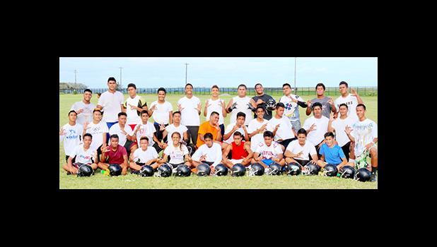 Nu'uuli Wildcats Junior Varsity Team.   [photo: TG]