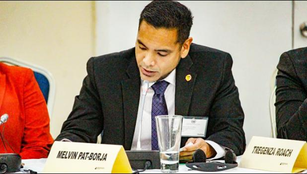 Commission on Decolonization Executive Director Melvin Won Pat-Borja