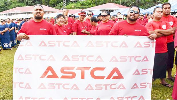 ASTCA employees at ASG Workforce Day