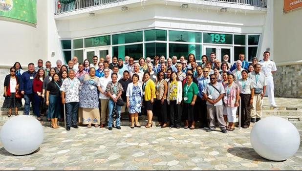 Participants of the recent Historic Preservation Grants training