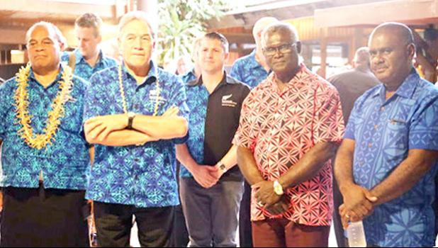 NZ Deputy PM Winston Peters in Vanuatu