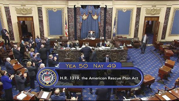 Total Senate vote