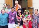 Rev. Stephen and Faletua Amene Fautanu Tukumoheatu. Graduates: LR. Mitchell Porotesano, Tene LinJustin Sipoloa, Jack Ah Loo, Tavai Porotesano