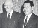 Dwight D. Eisenhower and Peter Tali Coleman