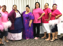 ASTCA employees wearing pink for 'Pinktober'