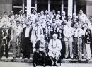 A screenshot of an October 1987 group photo of  those who attended the 16th South Pacific Chiefs of Police Conference