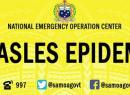 Measles epidemic poster