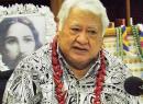 Samoa's Prime Minister, Tuila'epa Sa'ilele Malielegaoi