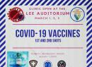 Vaccine notice posted at Health Dept. Facebook page