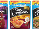 StarKist Tuna Creations flavors.
