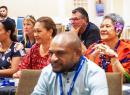 Participants at the second Pacific Tourism Insights Conference in Apia, Samoa.