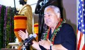 Former Congressman Faleomavaega Eni Hunkin in a 2012 Samoa News file photo.