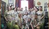 The 2018 Close Up student group from American Samoa in the Congressional office.