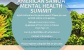 Mental Health Summit flyer