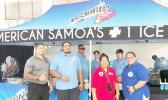 Samu's Ice Cream at COVID vaccine site with DoH personnel