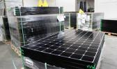 In this March 9, 2016 file photo, the latest generation of SunPower solar panels are stacked in Positive Energy Solar's warehouse in Albuquerque, N.M. Mostly unnoticed amid the political brawl over climate change, America has undergone a quiet transformation in how and where it gets its energy during Barack Obama's presidency, slicing the nation's output of polluting gases that are warming Earth. (AP Photo/Susan Montoya Bryan)
