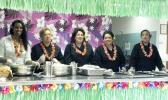 Tusalava Kuaea, Rumina Suafoa, Becky Glenister, Lita Kauea, Sila Manaea.