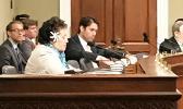 Congresswoman Amata addresses the panel during Wednesday's hearing on Marine Ntl Monuments. [courtesy photo]