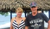 Scott and Gail Brown in Samoa. [Facebook]