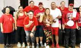 FHSAA Hawaii officers, members and Yumi Kraft, zumba instructor. [courtesy photo]