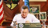 Guam's governor, Eddie Calvo.  [Photo: Office of the Governor of Guam]