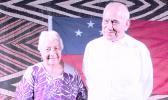 Former Head of State, His Highness Tui Atua Tupua Tamasese Efi  [SN file photo]