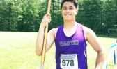 American Samoa's very own Hector Petri is setting and breaking records in football and track and field in the New England states.  [photo: courtesy]