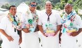 Fathers across the territory were all smiles yesterday as they were celebrated around the island for Fathers Day. Candy Ula's, Gift Baskets, and Food Galore is always a good bet as the sure way to a father's heart is through his stomach. (Photo:THA)