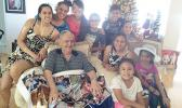 The late local patron of Dancing Fingers, Lealaifuaneva Peter E. Reid, Jr., a businessman, sportsman, and beloved father and grandfather. He will be honored tomorrow during a Christmas concert open to the public at at 6:00 p.m. at Calvary Temple AOG at Lepuapua (Leone). Six of Leala's grandchildren will be performing in tomorrow's concert that also honors their grandfather, as well as celebrates Christmas.  [Courtesy photo]