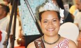 Miss Pacific Islands Abigail Havora who will hand over her crown this Friday at the 30th Miss Pacific Islands Pageant in Samoa at Tuanaimato.  (Photo JL)
