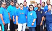 A 'wear all blue' day photo — the ASDOE OCI — that was posted on the ASCCC Facebook page last year to promote colorectal cancer awareness. [courtesy photo]
