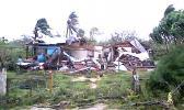 One of many homes destroyed by Cyclone Gita in Tonga  [Photo: Ke Leka / RNZI]