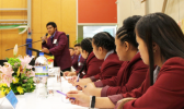 The girls from McAuley High School won the debate against De La Salle on the topic: O le ala I le pule o le tautua, or the way to authority is through service.  [photo: Kymberlee Fernandes/Fairfax NZ]