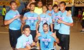 The Pavaiai Boys team, who played against the Laumua o Tumua from Samoa to vie for a slot in the top four. Laumua o Tumua won the slot after a very tough game.  [photo: Leua Aiono Frost]