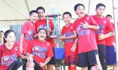 Samoa Baptist Academy's boys' 5-6 squad — champions of their division for the 2017 FFAS Private Elementary Schools Soccer League.  [FFAS MEDIA/Brian Vitolio]
