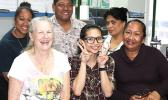 Representing the staff and management of Samoa News, are these six employees, wishing everyone a safe and happy Thanksgiving 2017. Manuia le Aso Faafetai Amerika Samoa.  [photo: FS]