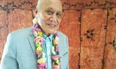 Former Head of State, His Highness Le Afioga a le Tui Atua Tupua Tamasese Ta'isi Efi [Photo: RNZ Pacific / Sela Jane Hopgood]