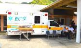 Se tasi o ta'avale e 5 i ai ta'avale na foa'i mai e le EMS a Honolulu mo le EMS a Amerika Samoa.  [ata AF]