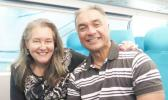 SUPPLIED  Wendt and Ete now live happily together in Wellington after a violent start to their marriage. [courtesy photo]