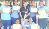 For the second year in a row, Kanana Fou High School took home first prize in the Island Wide Accounting Competition, which was held earlier this year and sanctioned by the local Department of Education. Congratulations Stallions! [Courtesy photo]