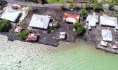 Water rising in Afega Village, Samoa