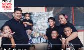 Fiti Aina and family