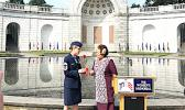 Congresswoman Amata honoring Chief Master Sergeant Armga