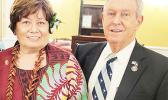 Congresswoman Amata with Congressman Joe Wilson, a senior Member of the Armed Services Committee.  [courtesy photo]